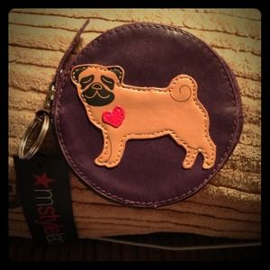 M Style Lab Clutches & Wallets - 💥FREE With Any Purchase💥 Pug Change Purse