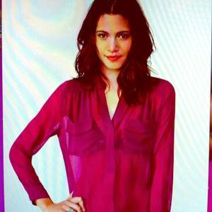 Vera pocket blouse from NASTYGAL. SZ Large