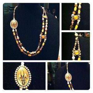 Jewelry - Fleur De Liz Necklace