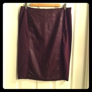 Atmosphere Dresses & Skirts - Oxblood Pencil Skirt