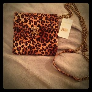 Steve Madden Clutches & Wallets - Leopard Clutch