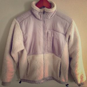 XS white North Face
