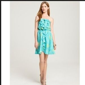 Lilly Pulitzer Dresses & Skirts - ⚡️FINAL SALE⚡️HP Lilly Pulitzer strapless dress