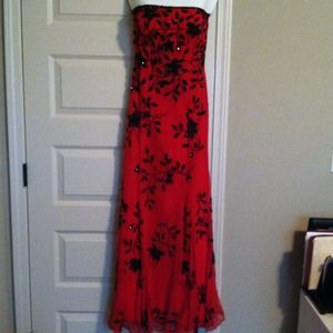 Cache RED beaded dress!