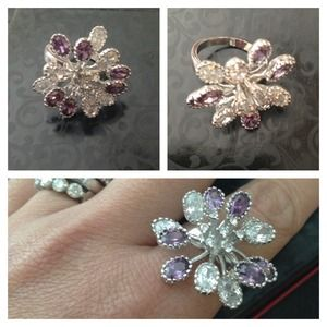 Final ReductionAmethyst Cocktail Ring