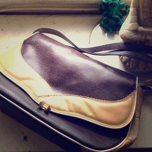 CLOSING SALE Rare Designer Leather Satchel