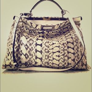 "FENDI ""Peekaboo Large Bag"""
