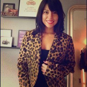 H&M Jackets & Blazers - Leopard Print Blazer.