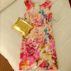 Suzy Chin floral dress