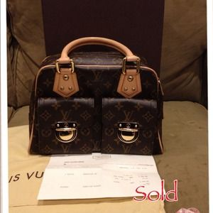 ❌Reserved❌Authentic Louis Vuitton Manhattan PM