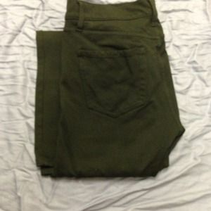 GAP Pants - Gap Hunter Green Legging Pants