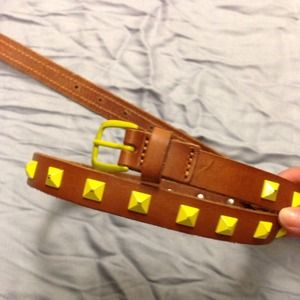 GAP Accessories - Neon Pyramid Stud Belt
