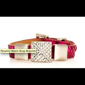 Juicy Couture Pyramid stud bracelet