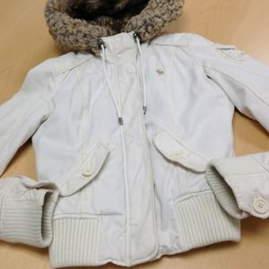 Abercrombie jacket with hood