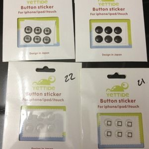 Accessories - Black/white home sticker bundle