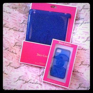 Juicy Couture Glitter Gelli Shells iPad iPhone 4S