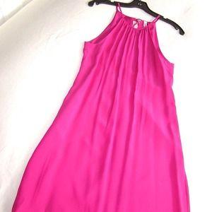 Aaron Ashe Dresses & Skirts - Aaron Ashe Fuchsia Halter Dress