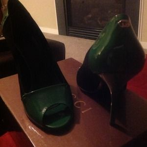 Gucci Shoes - 39 GUCCI peep toe