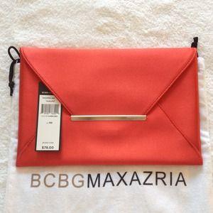 BCBGMaxAzria Clutches & Wallets - NWT BCBG Maxazria 'Harlow' Clutch