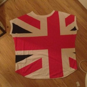 Tops - British flag shirt