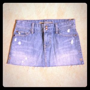 Abercrombie & Fitch Denim - ABERCROMBIE & FITCH DENIM SKIRT