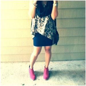DV by Dolce Vita Pink Booties.