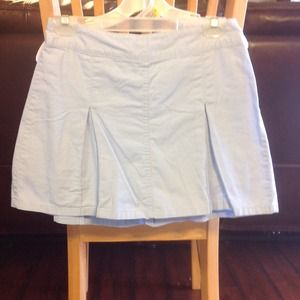 Light blue pleated skirts.  *REDUCED*