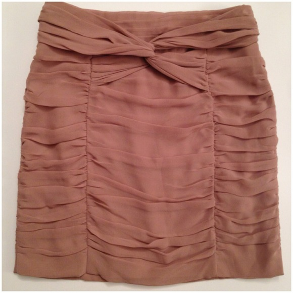 H&M Dresses & Skirts - Twist mini skirt blush pink 3