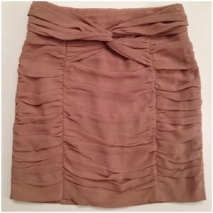H&M Skirts - Twist mini skirt blush pink