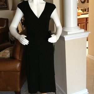 J. Crew Dresses & Skirts - J. Crew black wrap dress size small. Total class!