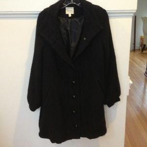Long woven black jacket!!