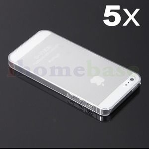Accessories - 10 clear iPhone 5 cases