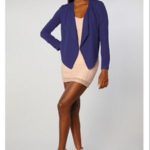Waterfall Blazer in Royal Blue