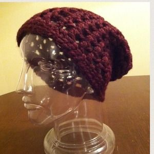 Accessories - Crochet slouchy hat. Never worn.