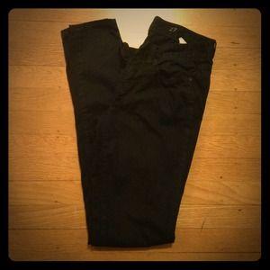J. Crew Denim - J. Crew Black Skinny Jeans