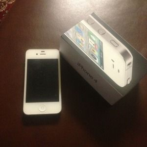 Unlocked iPhone 4 32gb looks brand new. Best offer