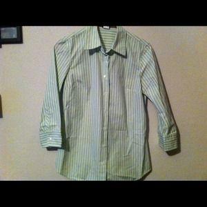 J. Crew Jackets & Blazers - J. Crew Collar Shirt NWOT