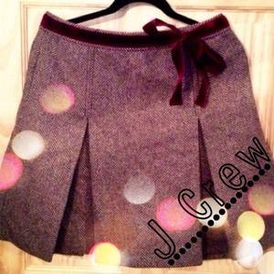 J. Crew Dresses & Skirts - J Crew Wool Skirt