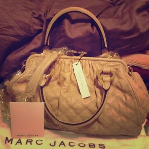 Authentic Marc Jacob Classic Quilted Stam Bag
