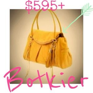 "$595+ Botkier ""Jackie"" Leather Handbag - AUTHENTIC"