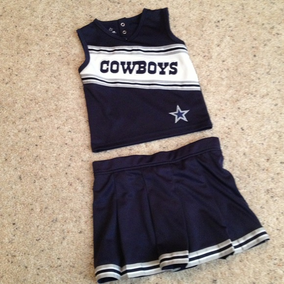 Top Other | Dallas Cowboys Cheerleader Outfit Toddler 3t | Poshmark  for cheap