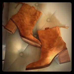 Sam Edelmann suede ankle boots