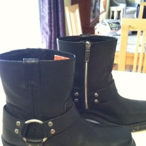 Boots - ***Reserved***Harley Davidson Moto Boots
