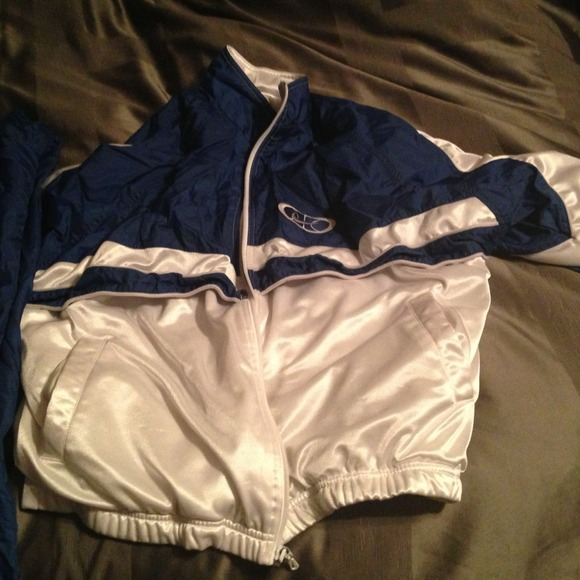 Nike basketball old school warm up suit