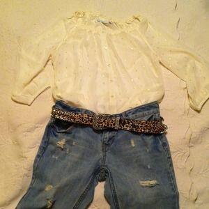 Accessories - Bling cheetah belt