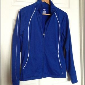 Danskin Now Jackets & Blazers - Danskin Now Royal Blue Jogging Jacket