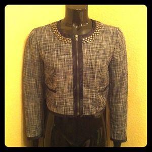 ReservedH&M Tweed Cropped Jacket