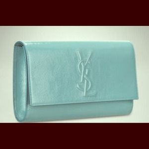 Lg.YSL Patent Leather Clutch