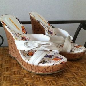 Brand New Adorable Wedge Sandals:)
