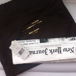 kate spade Clutches & Wallets - Kate Spade New York Newspaper Clutch
